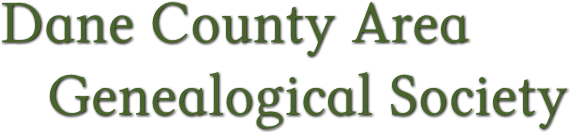 Dane County Area Genealogical Society